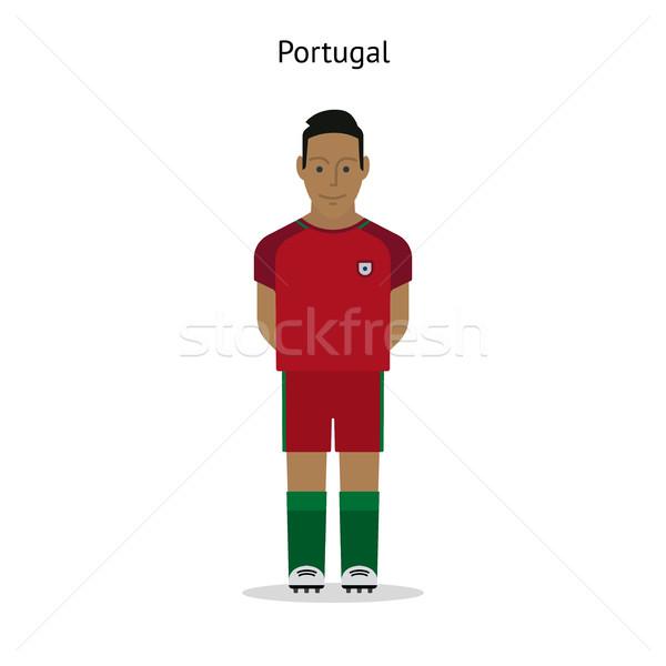 Football kit. Portugal Stock photo © tkacchuk