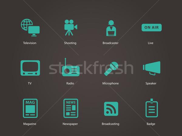 Media icons. Stock photo © tkacchuk