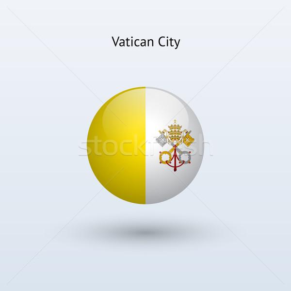 バチカン市国 フラグ グレー にログイン ウェブ 旅行 ストックフォト © tkacchuk