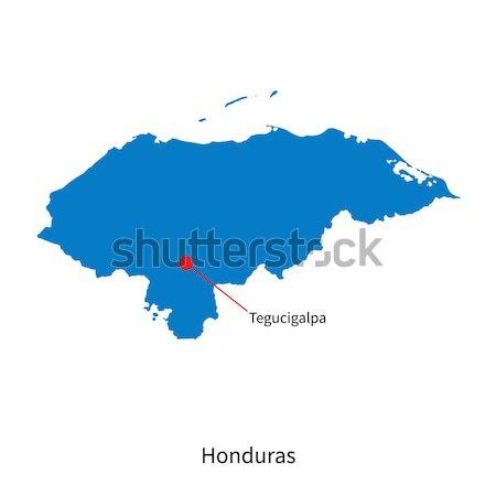 詳しい ベクトル 地図 スペイン 市 マドリード ストックフォト © tkacchuk