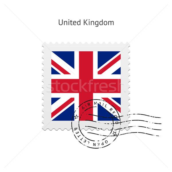 Büyük Britanya bayrak beyaz imzalamak mektup Stok fotoğraf © tkacchuk