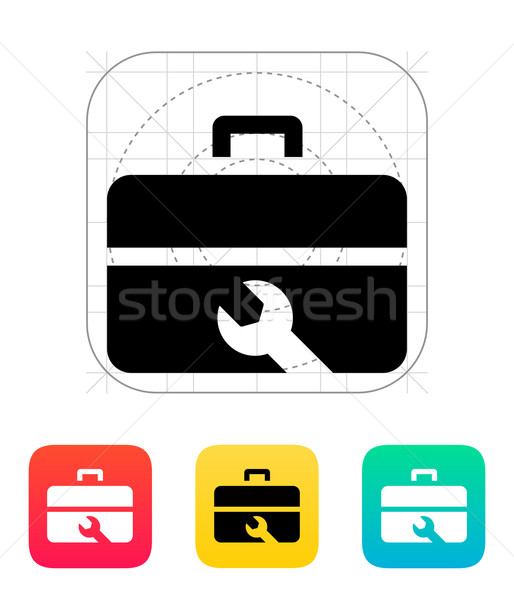 Repair Toolbox icon. Stock photo © tkacchuk