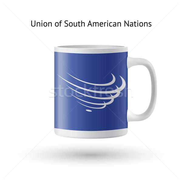 Союза флаг сувенир кружка белый Сток-фото © tkacchuk
