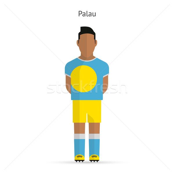 パラオ サッカー ユニフォーム 抽象的な フィットネス ストックフォト © tkacchuk