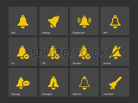 óvszer ikonok egészség felirat klasszikus biztonság Stock fotó © tkacchuk