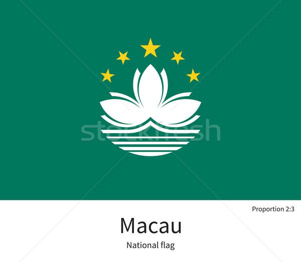 Bandeira corrigir elemento cores educação livros Foto stock © tkacchuk