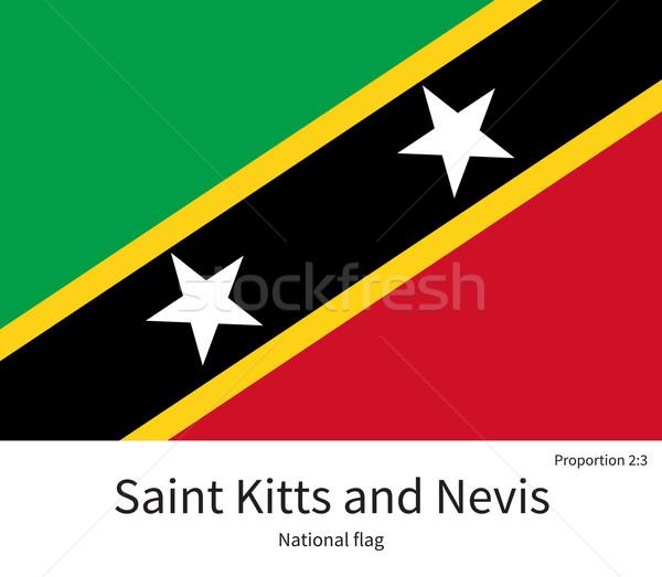 Bandeira corrigir elemento cores educação Foto stock © tkacchuk