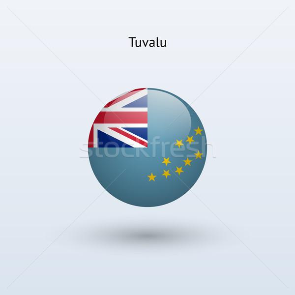 Tuvalu bandeira cinza assinar teia viajar Foto stock © tkacchuk