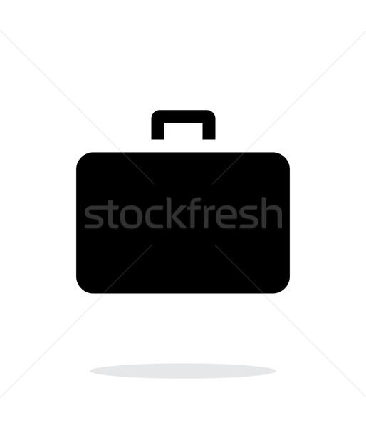 Case simple icon on white background. Stock photo © tkacchuk