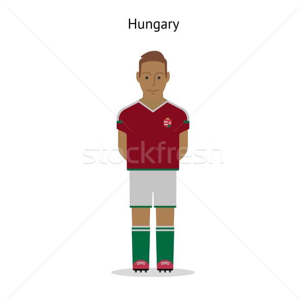 Football kit. Hungary Stock photo © tkacchuk