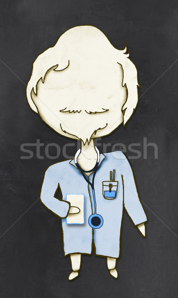 Doctor with Clipping Path Stock photo © TLFurrer