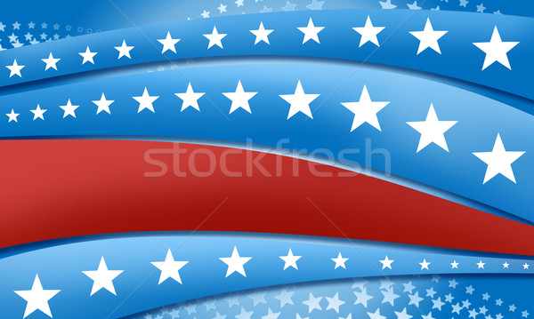 stars and stripes background Stock photo © TLFurrer