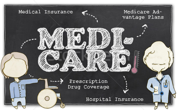 Medicare with Clipping Path Stock photo © TLFurrer