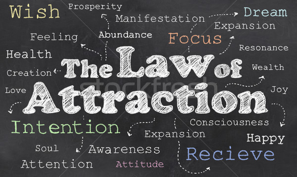 Law of Attraction Stock photo © TLFurrer