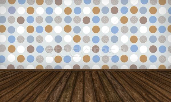 インテリア 色 点在 壁 抽象的な ストックフォト © TLFurrer