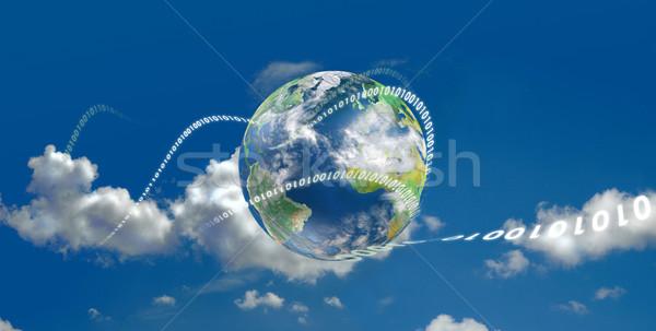 эволюция иллюстрированный земле движущихся Сток-фото © TLFurrer