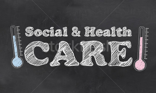 Social and Health Care Stock photo © TLFurrer