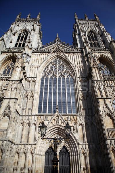 Cathédrale église Angleterre gothique religieux bâtiment Photo stock © tlorna
