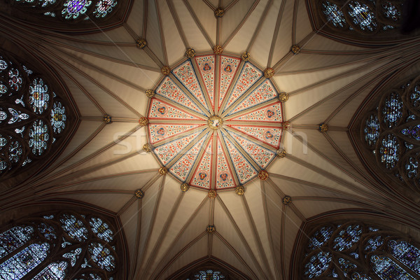 Angleterre intérieur plafond bâtiment église Photo stock © tlorna