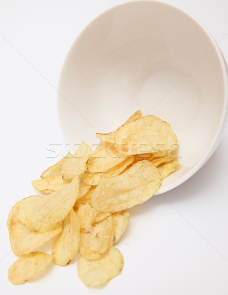 potato chips snack Stock photo © tlorna