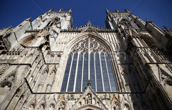 Kathedraal kerk Engeland gothic religieuze gebouw Stockfoto © tlorna