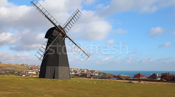windmill old mill town england Stock photo © tlorna