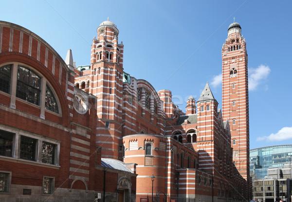 Westminster cathédrale Londres romaine catholique lieu Photo stock © tlorna