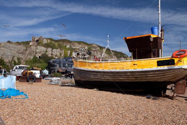 trawler hastings fishing Stock photo © tlorna
