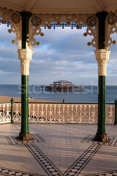 brighton bandstand pier england Stock photo © tlorna
