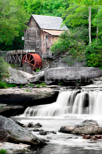 Glade Creek Grist Mill Stock photo © tmainiero