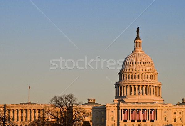 Capitol Building at Sunset Stock photo © tmainiero