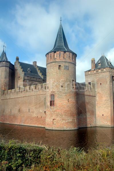 城 オランダ語 アムステルダム オランダ 空 水 ストックフォト © tmainiero