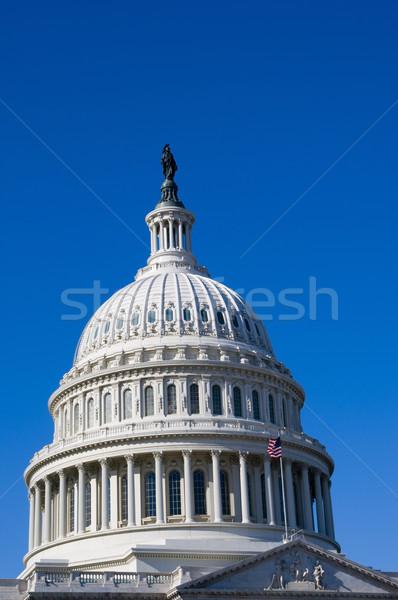 建物 ドーム アメリカ合衆国議会議事堂 ワシントンDC 美しい ストックフォト © tmainiero