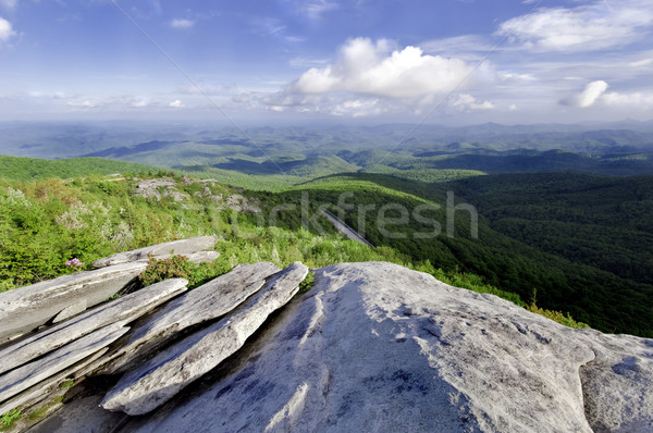 Blue Ridge Parkway Stock photo © tmainiero
