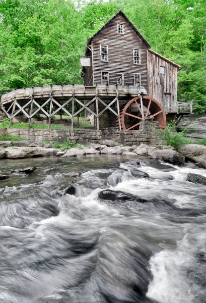 Stock photo: Glade Creek Grist Mill