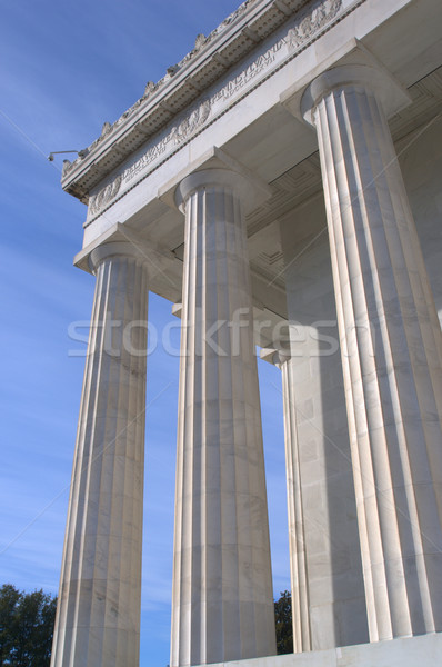 Lincoln Memorial - Washington DC Stock photo © tmainiero