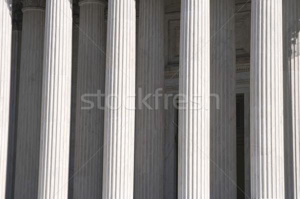 Greek columns Stock photo © tmainiero