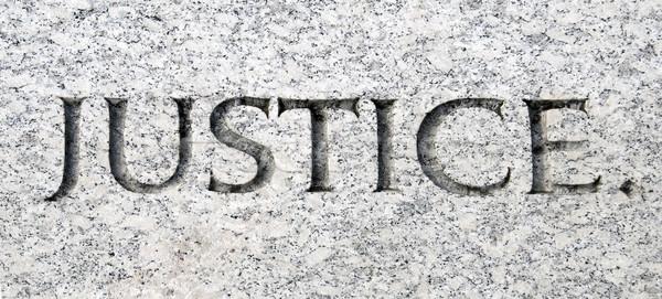 Justice Stock photo © tmainiero