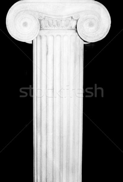 Greco colonna bella dettaglio architettonico ionica costruzione Foto d'archivio © tmainiero