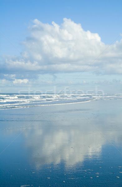 雲 反射 海 サーフィン 空 水 ストックフォト © tmainiero