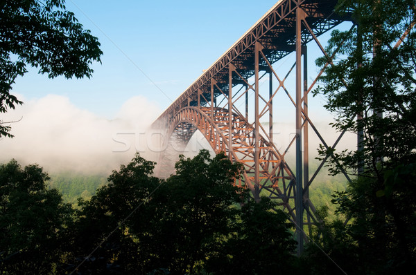 New River Gorge Bridge Stock photo © tmainiero