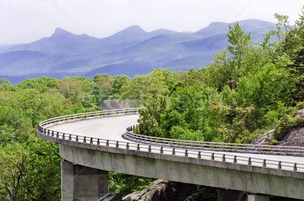 Linn Cove Viaduct Stock photo © tmainiero