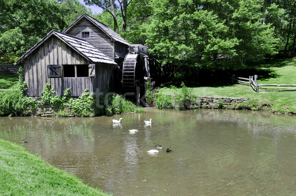 Mabry Mill Stock photo © tmainiero