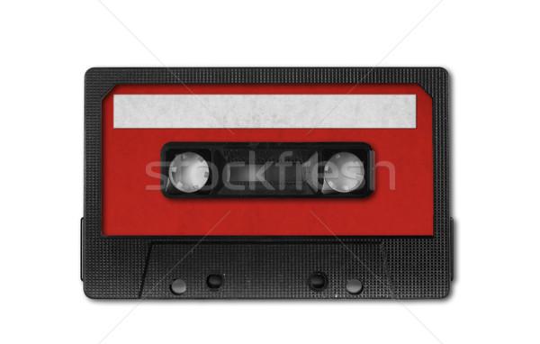 Stock photo: Retro Vintage Audio Cassette Tape