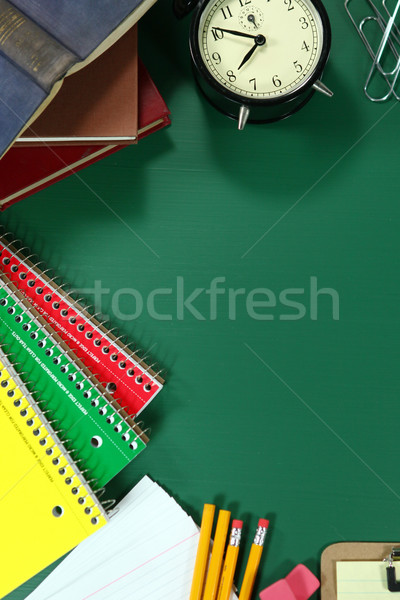 Back to School Items With Copy Space Stock photo © tobkatrina