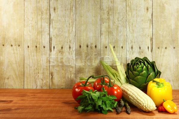 Alimentari produrre legno alimentare Foto d'archivio © tobkatrina