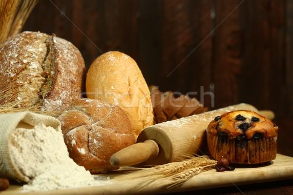 Baking Fresh Baked Bread Stock photo © tobkatrina