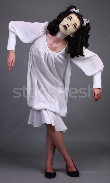 Bizarr horror szokatlan stressz félelem riasztó Stock fotó © tobkatrina