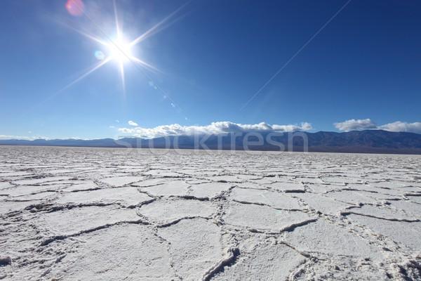 美しい 風景 死 谷 カリフォルニア 塩 ストックフォト © tobkatrina
