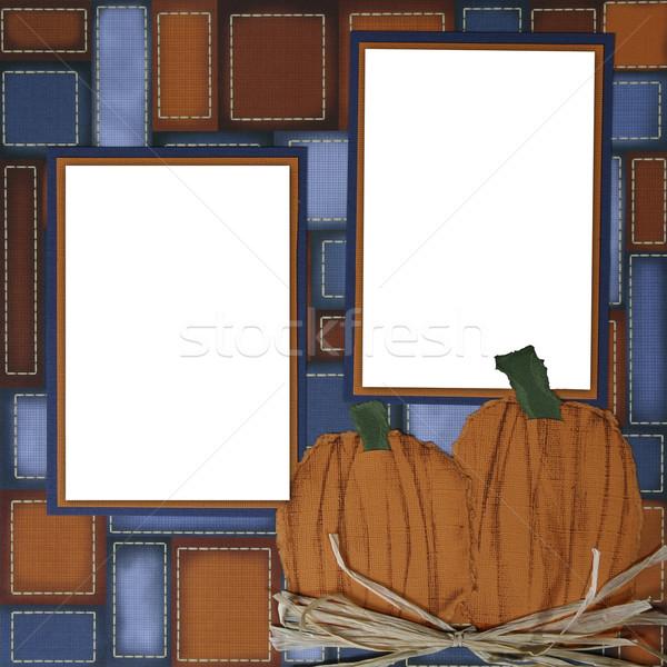 ручной работы альбом бумаги страница макет Сток-фото © tobkatrina